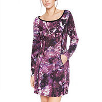 Lavand Diana dress purple S/M