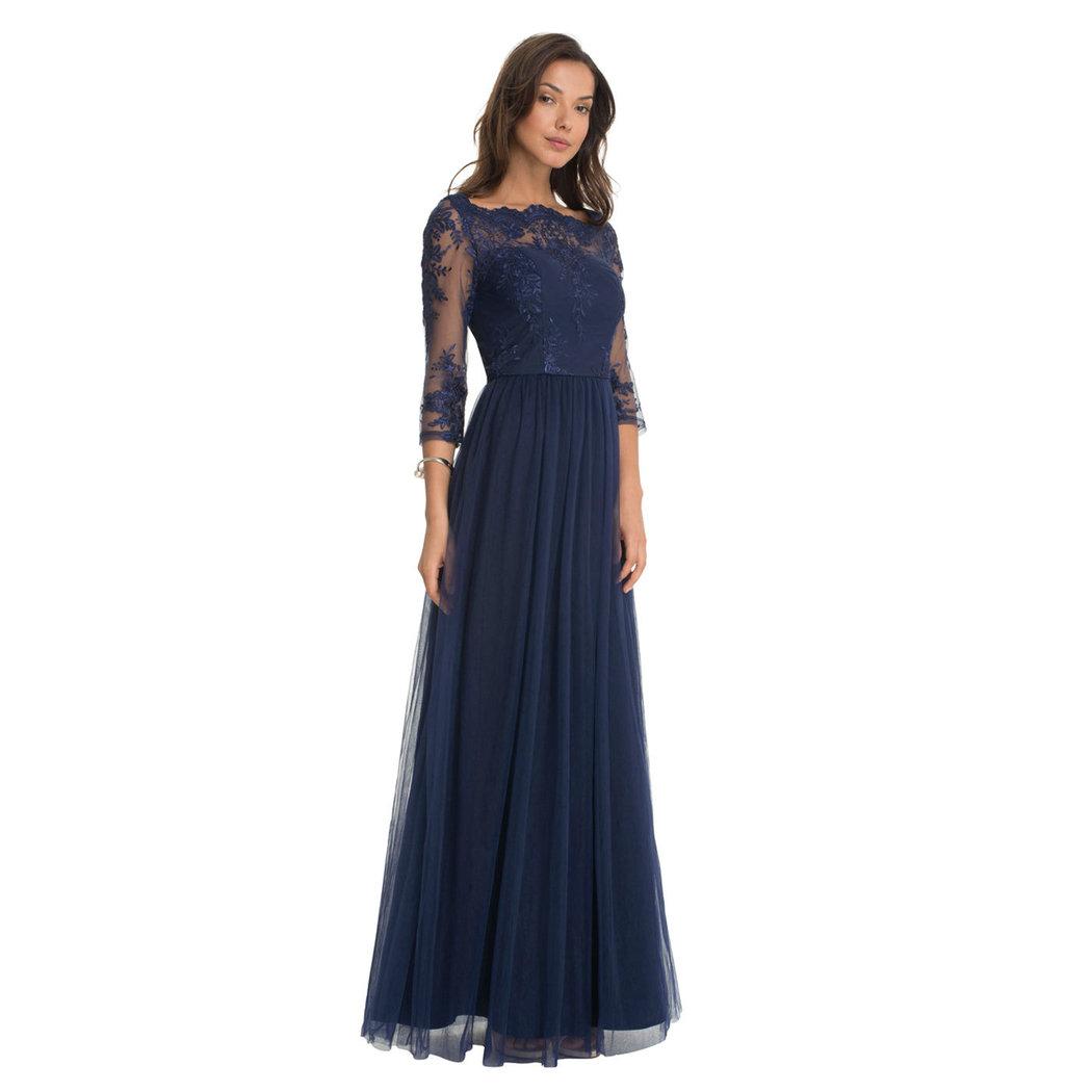 Chi Chi Saskia Maxi dress navy M-L - Born11Style Fashion Store