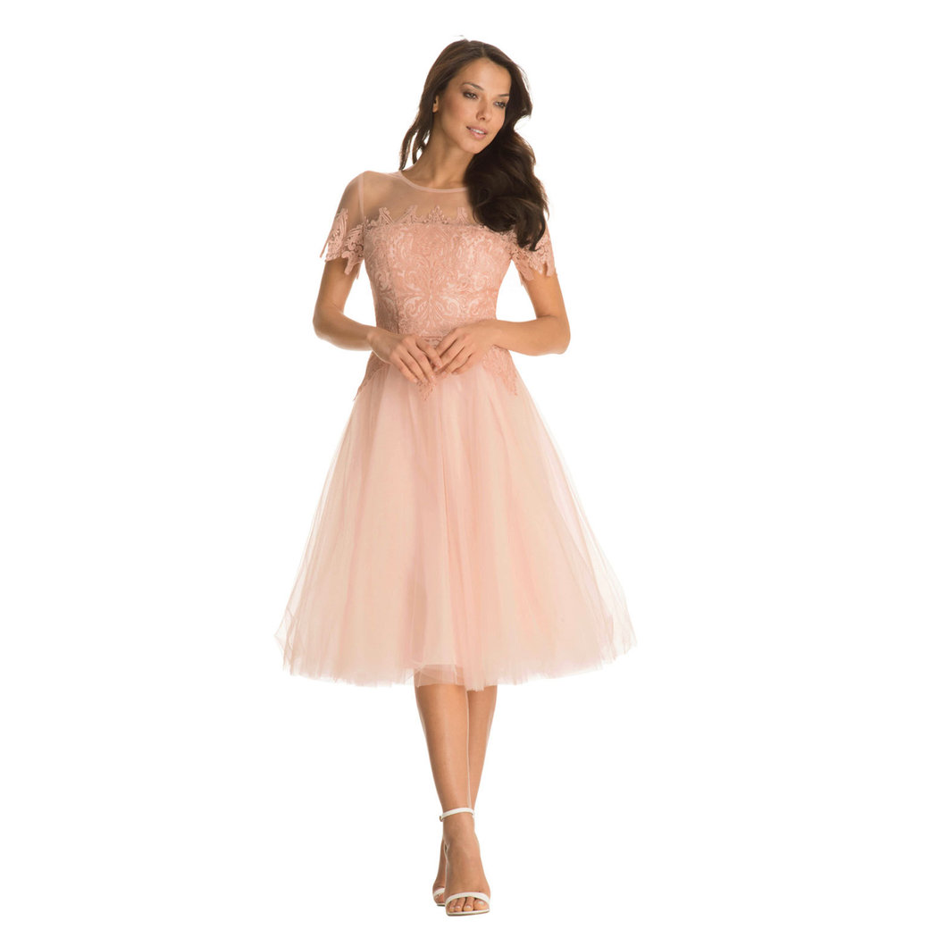 Chi Chi Kalia Kleid rose cloud L - Born18Style Fashion Store