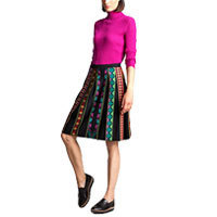 Ivko Skirt with Pleats black (72625) 40-42