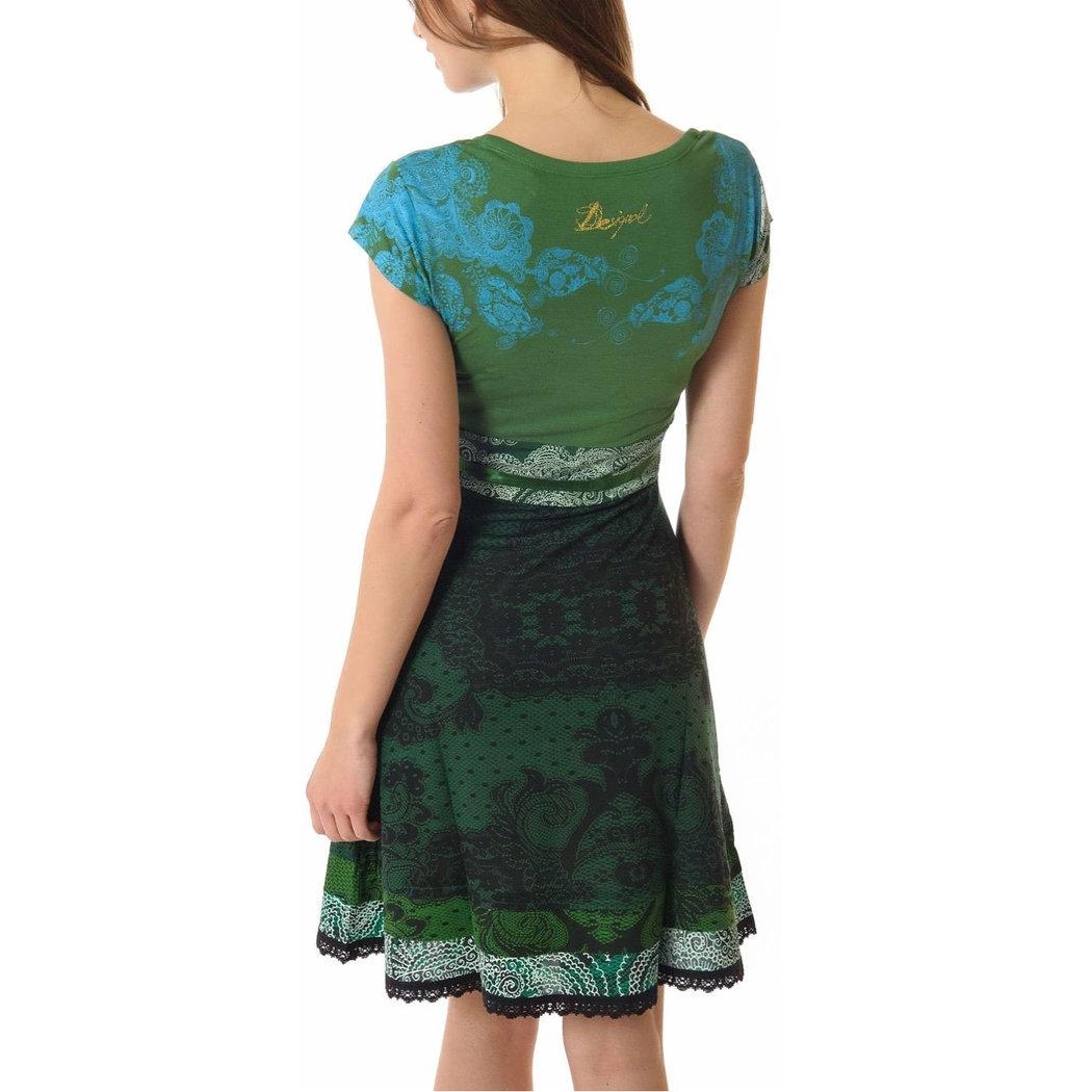 Desigual Paris Kleid verde M