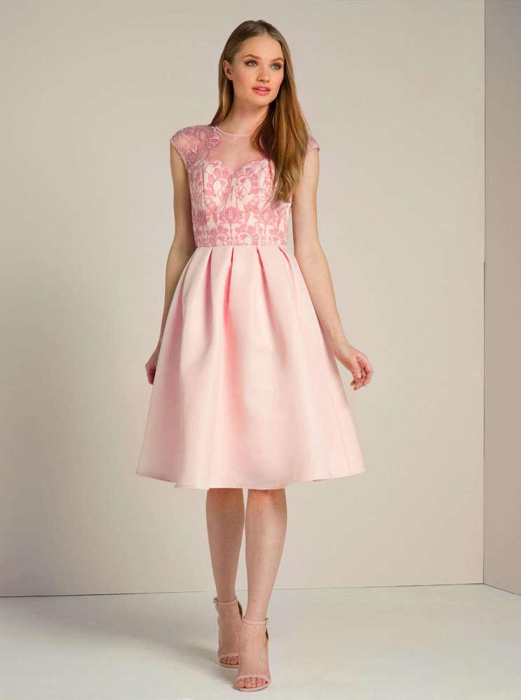 1fa6906314bb9 Chi Chi Tatiana dress pink - Born2Style Fashion Store