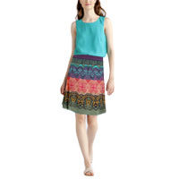 Ivko Loose Stitch Skirt marine (81628) 40