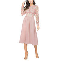 Chi Chi Bee dress nude XS-S