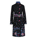 Ivko Boiled Wool Coat with Embroidery (82501) Gr. 38-42