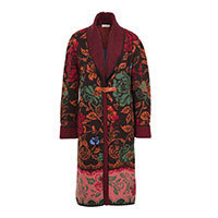 Ivko V-Neck Coat Floral Pattern (82502) Gr.40