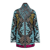 Ivko Jacket Brocade black (202510) M-XXL